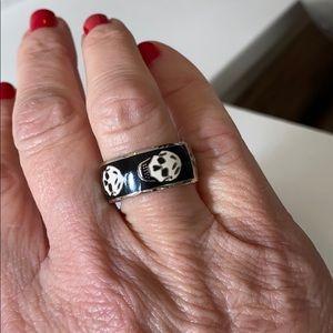 Alexander McQueen Enamel Ring NWOT
